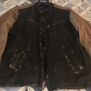 XL Men's Wilson's Leather bomber jacket
